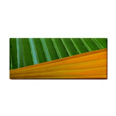 Pattern Colorful Palm Leaves Cosmetic Storage Cases by Amaryn4rt