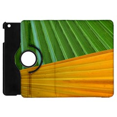 Pattern Colorful Palm Leaves Apple Ipad Mini Flip 360 Case by Amaryn4rt