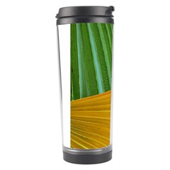 Pattern Colorful Palm Leaves Travel Tumbler by Amaryn4rt