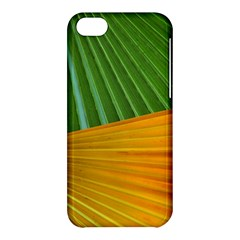 Pattern Colorful Palm Leaves Apple Iphone 5c Hardshell Case
