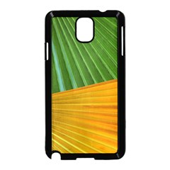 Pattern Colorful Palm Leaves Samsung Galaxy Note 3 Neo Hardshell Case (black)