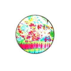 Pattern Decorated Schoolbus Tie Dye Hat Clip Ball Marker (10 Pack) by Amaryn4rt
