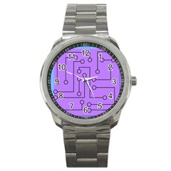 Peripherals Sport Metal Watch by Amaryn4rt