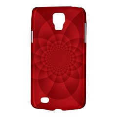 Psychedelic Art Red  Hi Tech Galaxy S4 Active