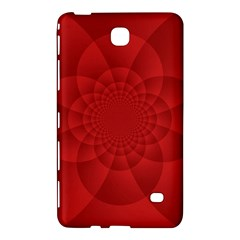 Psychedelic Art Red  Hi Tech Samsung Galaxy Tab 4 (7 ) Hardshell Case