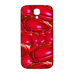 Red Abstract Cherry Balls Pattern Samsung Galaxy S4 I9500/i9505  Hardshell Back Case by Amaryn4rt
