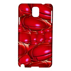 Red Abstract Cherry Balls Pattern Samsung Galaxy Note 3 N9005 Hardshell Case