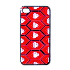 Red Bee Hive Apple Iphone 4 Case (black)