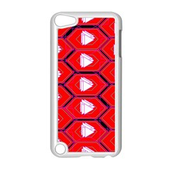 Red Bee Hive Apple Ipod Touch 5 Case (white)