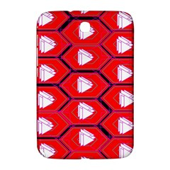 Red Bee Hive Samsung Galaxy Note 8 0 N5100 Hardshell Case  by Amaryn4rt