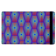 Red Blue Bee Hive Apple Ipad 2 Flip Case