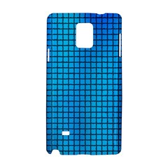Seamless Blue Tiles Pattern Samsung Galaxy Note 4 Hardshell Case by Amaryn4rt
