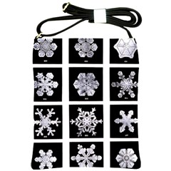 Snowflakes Exemplifies Emergence In A Physical System Shoulder Sling Bags