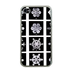 Snowflakes Exemplifies Emergence In A Physical System Apple Iphone 4 Case (clear)