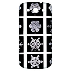Snowflakes Exemplifies Emergence In A Physical System Samsung Galaxy S3 S Iii Classic Hardshell Back Case by Amaryn4rt