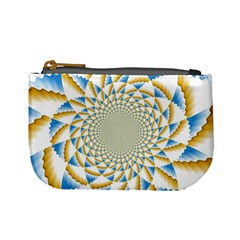 Tech Neon And Glow Backgrounds Psychedelic Art Psychedelic Art Mini Coin Purses