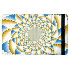 Tech Neon And Glow Backgrounds Psychedelic Art Psychedelic Art Apple Ipad 3/4 Flip Case by Amaryn4rt