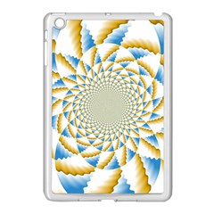Tech Neon And Glow Backgrounds Psychedelic Art Psychedelic Art Apple Ipad Mini Case (white) by Amaryn4rt