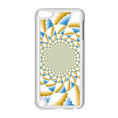 Tech Neon And Glow Backgrounds Psychedelic Art Psychedelic Art Apple Ipod Touch 5 Case (white) by Amaryn4rt