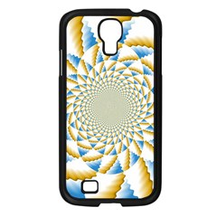 Tech Neon And Glow Backgrounds Psychedelic Art Psychedelic Art Samsung Galaxy S4 I9500/ I9505 Case (black) by Amaryn4rt