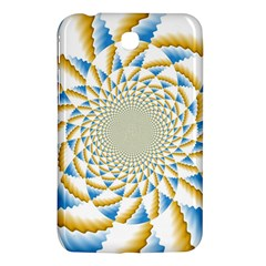 Tech Neon And Glow Backgrounds Psychedelic Art Psychedelic Art Samsung Galaxy Tab 3 (7 ) P3200 Hardshell Case  by Amaryn4rt