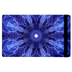 Tech Neon And Glow Backgrounds Psychedelic Art Apple Ipad 3/4 Flip Case by Amaryn4rt