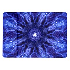 Tech Neon And Glow Backgrounds Psychedelic Art Samsung Galaxy Tab 10 1  P7500 Flip Case by Amaryn4rt