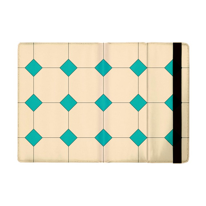Tile Pattern Wallpaper Background Apple iPad Mini Flip Case