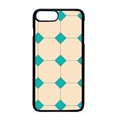 Tile Pattern Wallpaper Background Apple Iphone 7 Plus Seamless Case (black) by Amaryn4rt