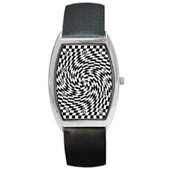 Whirl Barrel Style Metal Watch