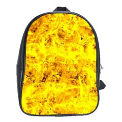 Yellow Abstract Background School Bags (xl)  by Amaryn4rt