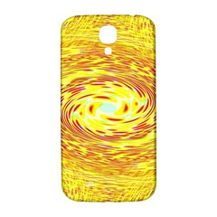Yellow Seamless Psychedelic Pattern Samsung Galaxy S4 I9500/i9505  Hardshell Back Case
