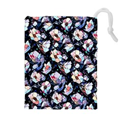 Filtered Anemones  Drawstring Pouches (extra Large) by miranema