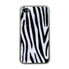 Skin4 Black Marble & White Marble Apple Iphone 4 Case (clear) by trendistuff