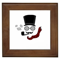 Invisible Man Framed Tiles by Valentinaart