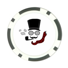 Invisible Man Poker Chip Card Guard