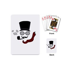 Invisible Man Playing Cards (mini)