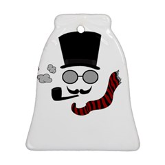 Invisible Man Bell Ornament (two Sides) by Valentinaart