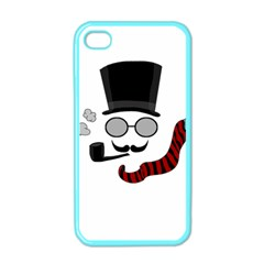 Invisible Man Apple Iphone 4 Case (color) by Valentinaart