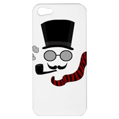 Invisible Man Apple Iphone 5 Hardshell Case by Valentinaart