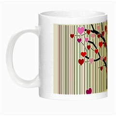 Valentine s Day Tree Night Luminous Mugs by Valentinaart