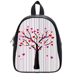 Valentine s Day Tree School Bags (small)  by Valentinaart