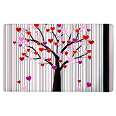 Valentine s Day Tree Apple Ipad 2 Flip Case by Valentinaart