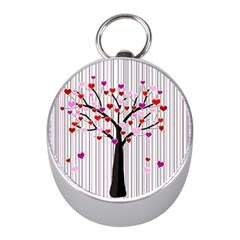 Valentine s Day Tree Mini Silver Compasses