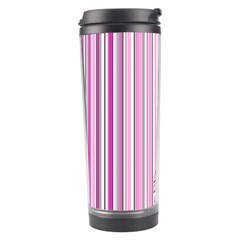Pink Love Pattern Travel Tumbler by Valentinaart
