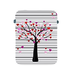 Love Tree Apple Ipad 2/3/4 Protective Soft Cases by Valentinaart