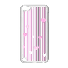 Pink Love Apple Ipod Touch 5 Case (white) by Valentinaart