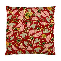 Pizza Pattern Standard Cushion Case (one Side)