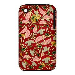 Pizza Pattern Iphone 3s/3gs by Valentinaart