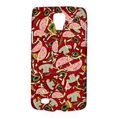 Pizza Pattern Galaxy S4 Active by Valentinaart